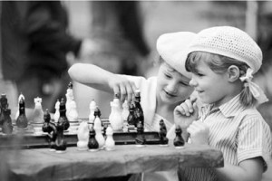 What makes chess and checkers preparation?