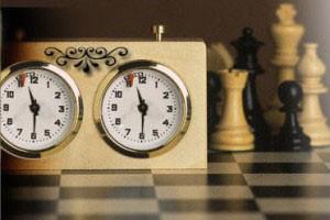 Первые шахматные часы.