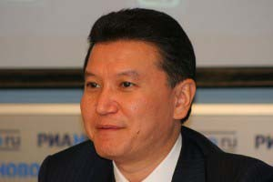 Interview with the President of FIDE Kirsan Ilyumzhinov.
