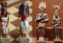 египетский ферзь и король