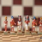 египетские фигуры белые