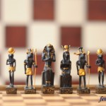 египетские фигуры черные