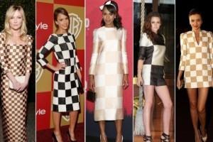 Stars choose a chess fashion!