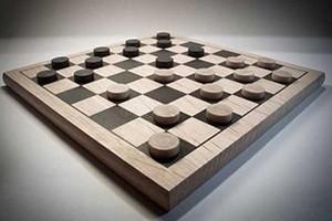 Стих о шашечной партии.